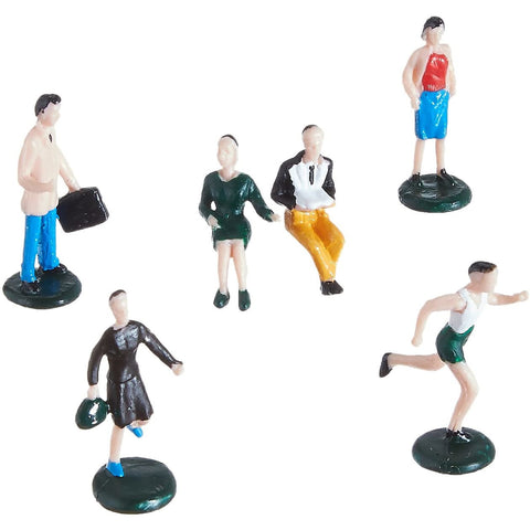 BACHMANN HO scale People at Leisure Set