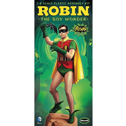 MOEBIUS 1/8 Batman 1966 Robin Figure Kit Movie