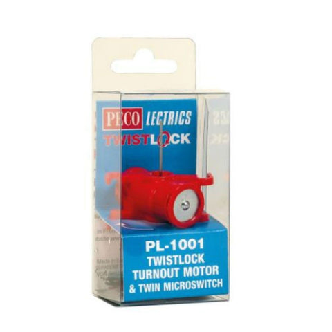 PECO Twistlock Motor and Microswitch
