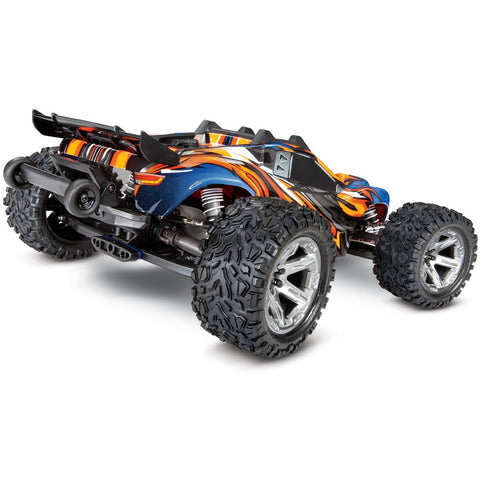 TRAXXAS Rustler 4x4 VXL 1/10 - Orange