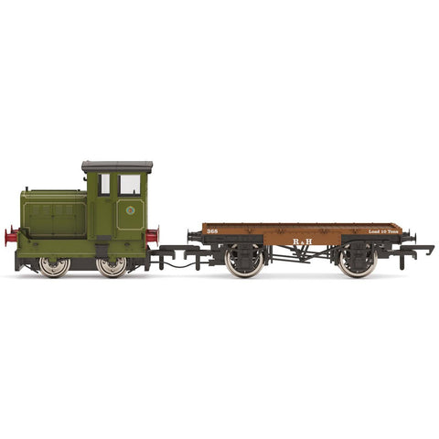 HORNBY RUSTON & HORNSBY LTD, R&H 48DS, 0-4-0, NO. 269595 -