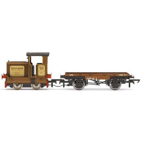 HORNBY OO LONGMORN DISTILLERY, R&H 48DS, 0-4-0, 'QUEEN ANNE