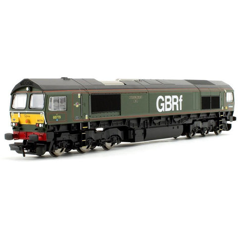 HORNBY GBRF, CLASS 66, CO-CO, 66779 'EVENING STAR' - ERA 10