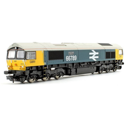 HORNBY GBRF, CLASS 66, CO-CO, 66789 'BRITISH RAIL 1948-1997