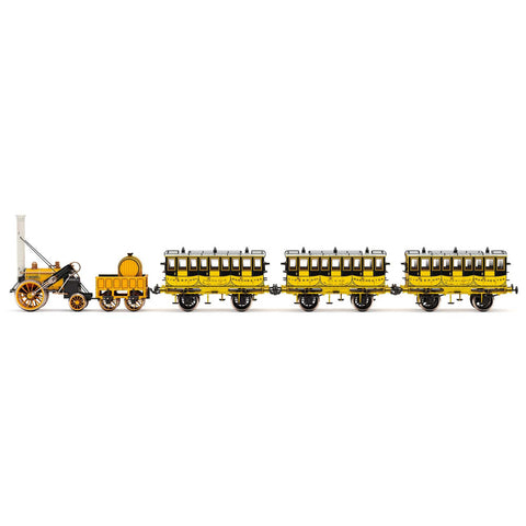 Image of HORNBY OO L&MR, STEPHENSON'S ROCKET TRAIN PACK - ERA 1