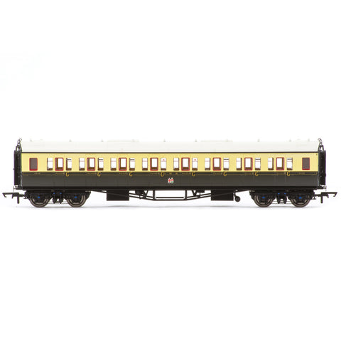 HORNBY GWR, COLLETT 'BOW ENDED' CORRIDOR THIRD, 4556 - ERA
