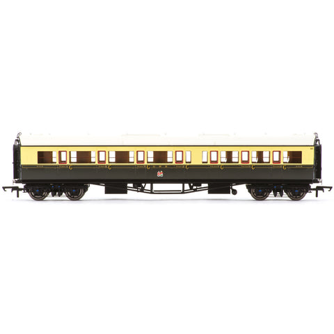 HORNBY GWR, COLLETT 'BOW ENDED' CORRIDOR COMPOSITE (L/H), 6