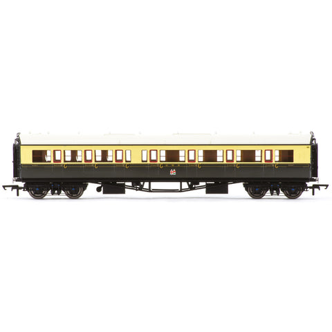 HORNBY GWR, COLLETT 'BOW ENDED' CORRIDOR COMPOSITE (R/H), 6