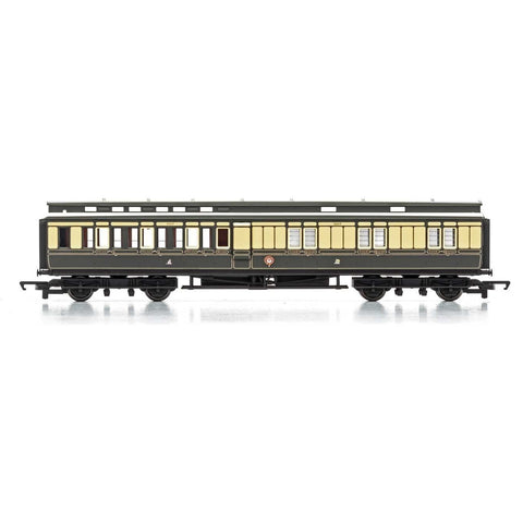 HORNBY GWR, D29 'CLERESTORY' CORRIDOR BRAKE THIRD, 3403 - E