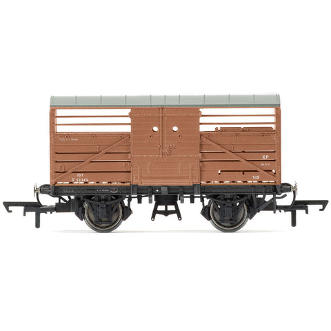 Image of HORNBY BR, DIA. 1530 CATTLE WAGON, S52347 - ERA 4 (69-R6840