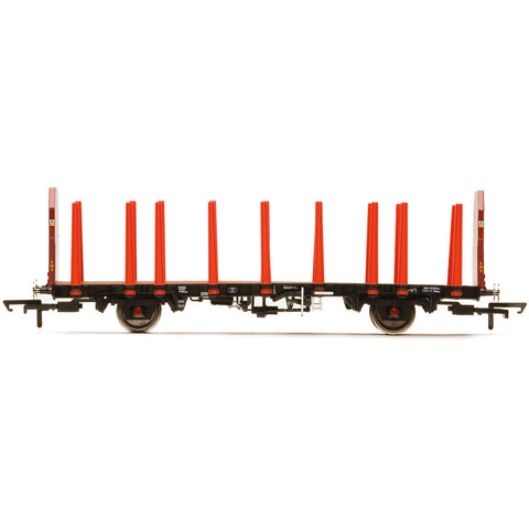HORNBY EWS, OTA TIMBER WAGON (TAPERED STANCHIONS), 200763 -