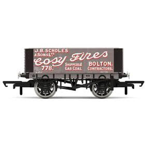 HORNBY 6 Plank Wagon - Scholes & Sons (69-R6871)