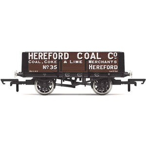 HORNBY 5 PLANK WAGON, 'HEREFORD COAL COMPANY' NO. 35 - ERA 2 (69-R6901)
