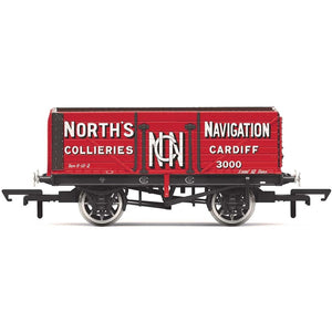 HORNBY 7 PLANK WAGON, 'NORTH'S NAVIGATION' NO. 3000- ERA 2 (69-R6904)