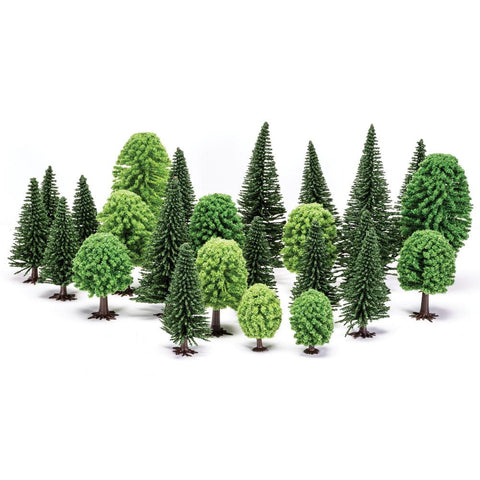HORNBY Hobby' Mixed (Deciduous and Fir) Trees
