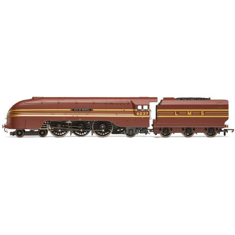 HORNBY LMS 4-6-2 'CITY OF BRISTOL' '6237' PRINCESS CORONATION CLASS - AIR SMOOTHED
