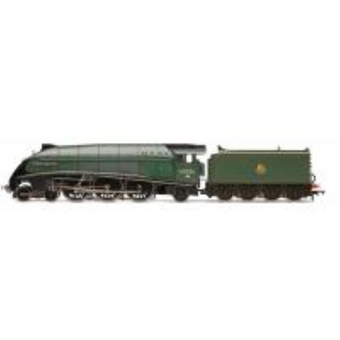 "HORNBY Class A4 4-6-2 60026 ""Miles Beevor"" in BR green with early emblem - Hearns Hobbies Melbourne - HORNBY"