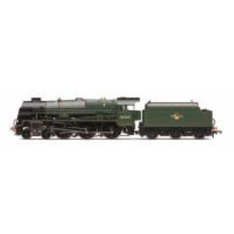"HORNBY Class 7P 'Royal Scot' 4-6-0 46165 ""The Ranger"" in BR green with late crest - Hearns Hobbies Melbourne - HORNBY"