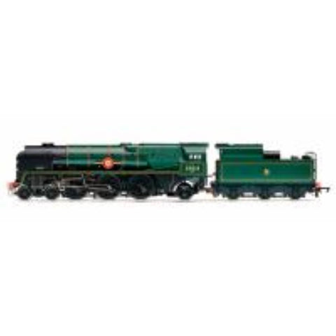 HORNBY BR 4-6-2 'British Indian Line' Merchant Navy Class (Re-built) Early BR - Hearns Hobbies Melbourne - HORNBY