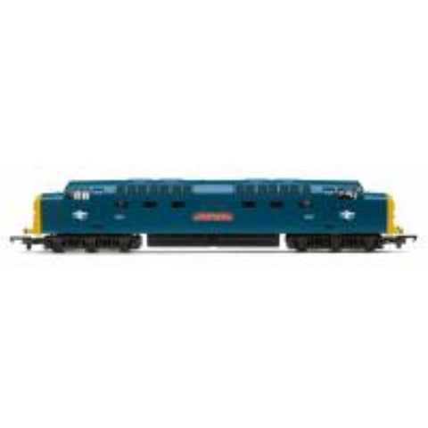 "HORNBY Class 55 'Deltic' 9010 ""The Kings Own Scottish Borderer"" in BR blue - Railroad Range - Hearns Hobbies Melbourne - HORNBY"
