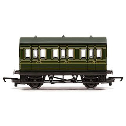 HORNBY RAILROAD SR 4 WHEEL COACH