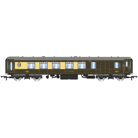 HORNBY K-TYPE PULLMAN THIRD CLASS PARLOUR BRAKE CAR 'CAR NO.80'