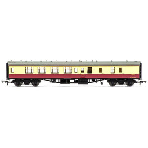HORNBY OO BR MK1 COACH CORRIDOR BRAKE 2ND CLASS, CRIMSON AN