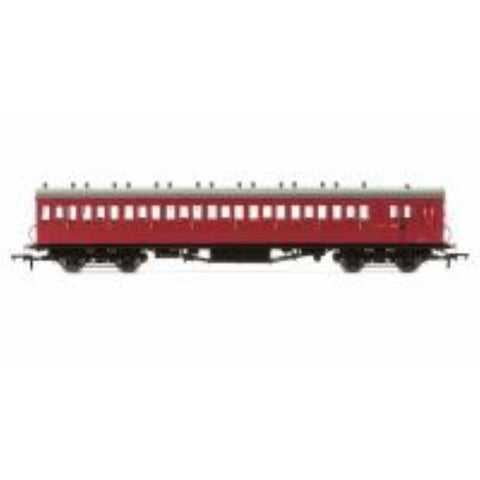 HORNBY BR 58' Maunsell Rebuilt (Ex-LSWR 48) Eight Compartment Brake Third Class Coach