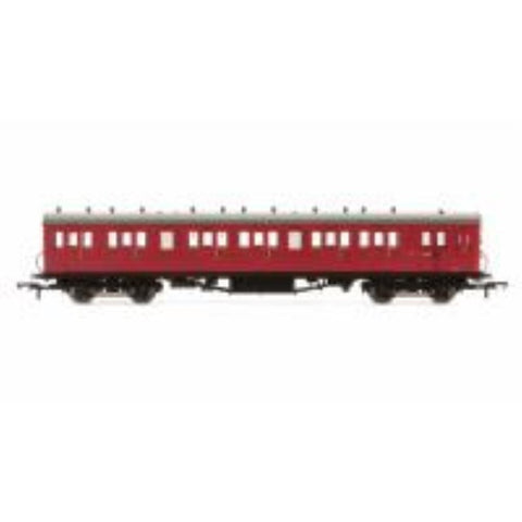 HORNBY BR 58' Maunsell Rebuilt (Ex-LSWR 48) Six Compartment Brake Third Coach