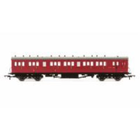 HORNBY BR 58' Maunsell Rebuilt (Ex-LSWR 48) Six Compartment Brake Composite Coach
