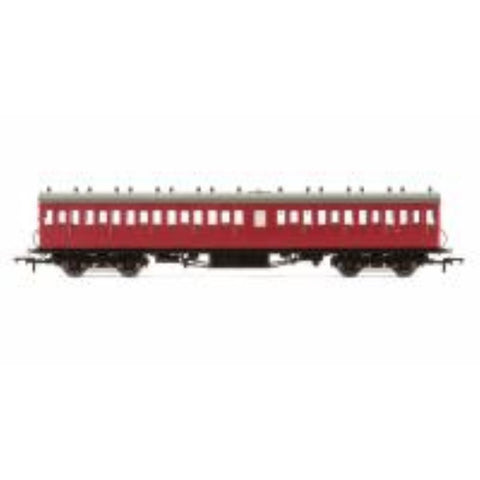 HORNBY BR 58' Maunsell Rebuilt (Ex-LSWR 48) Nine Compartment Third Class Coach