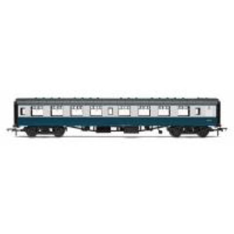 HORNBY BR Mk1 Coach Tourist Second Open 'W5025', Blue & Grey Livery - Hearns Hobbies Melbourne - HORNBY