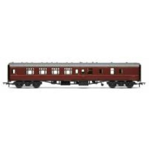 HORNBY BR Mk1 Coach Corridor Brake 2nd Class 'E34729', Maroon (no crest) - Hearns Hobbies Melbourne - HORNBY