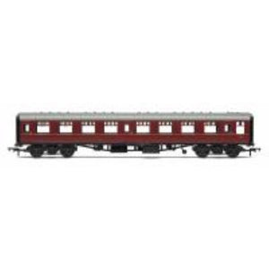 HORNBY BR Mk1 Coach Second Open 'E4811', Maroon (no crest) - Hearns Hobbies Melbourne - HORNBY