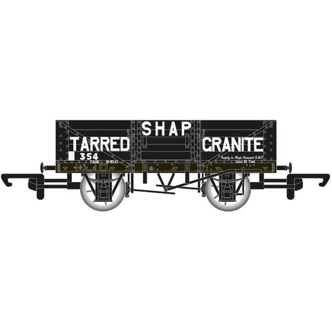 HORNBY 5 Plank Wagon 'Shap Tarred Granite' - Hornby 2017