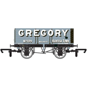 HORNBY OO 7 PLANK WAGON 'GREGORY'