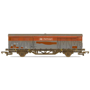 HORNBY BR Ferry Van VJX B787124 in BR Railfreight grey - we