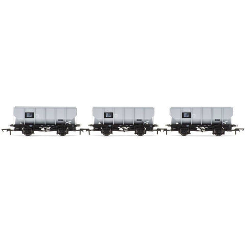 HORNBY BR 21 TON HOPPER WAGONS OOOOOO- THREE WAGON PACK