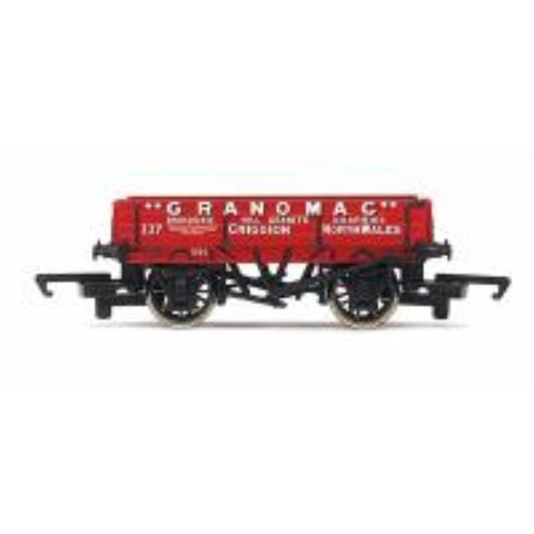 HORNBY 3 Plank Wagon 'Granomac' - Hearns Hobbies Melbourne - HORNBY