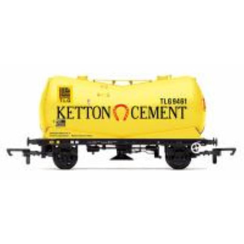 HORNBY PCA Vee Tank Wagon 'Ketton Cement' - Hearns Hobbies Melbourne - HORNBY
