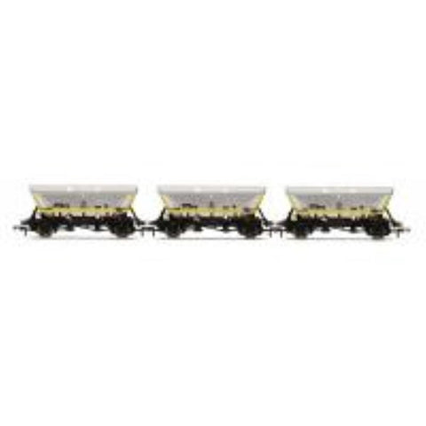 HORNBY HFA Hopper Wagons, Barry - Three Wagon Pack - Hearns Hobbies Melbourne - HORNBY