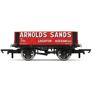 HORNBY 4 Plank Wagon, Arnolds Sands - Era 3 (69-R6862)