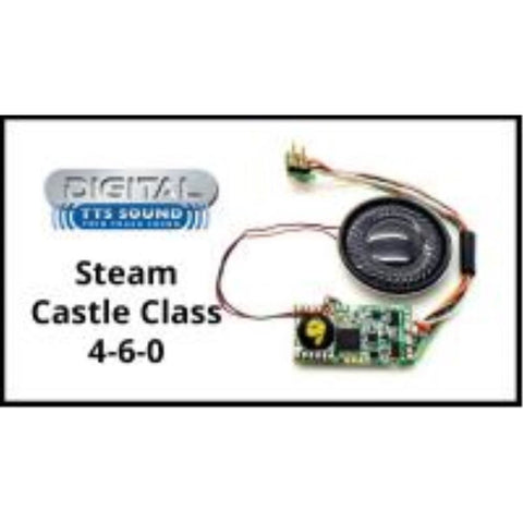 HORNBY TTS DCC Sound Decoder with 8 pin plug - Class 4073 'Castle' steam locomotive - Hearns Hobbies Melbourne - HORNBY
