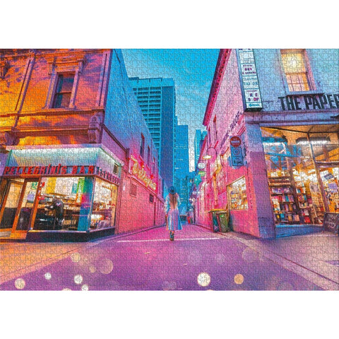 MELB I LOVE YOU 1000 Piece Jigsaw Iconic Melbourne
