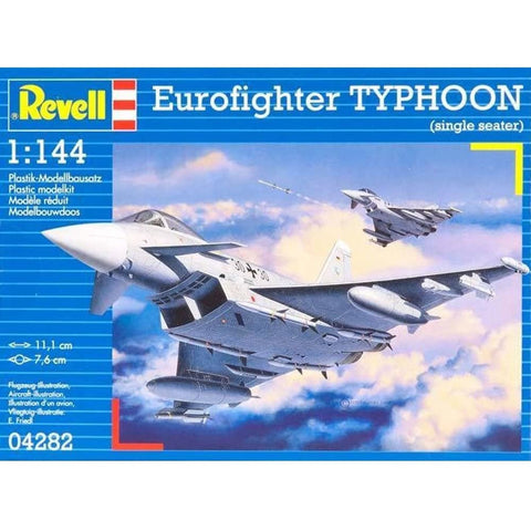 REVELL 1/144 Eurofighter Typhoon (Single Seater)