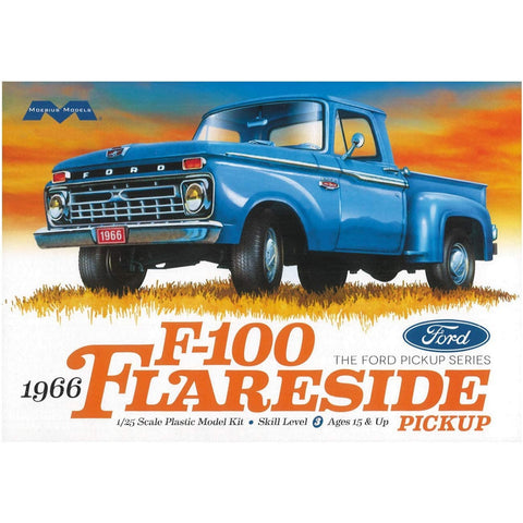 MOEBIUS 1/25 1966 Ford F-100 Flareside Pickup Plastic Kit
