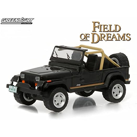 Image of GREENLIGHT 1:64 Field of Dreams 1987 Jeep Wrangler YJ Movie