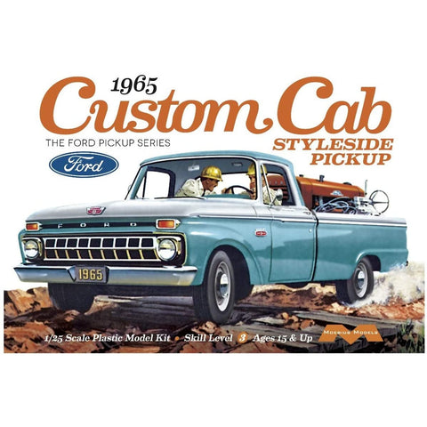 MOEBIUS 1/25 1965 F-150 Ford Custom Cab Pickup Plastic Kit