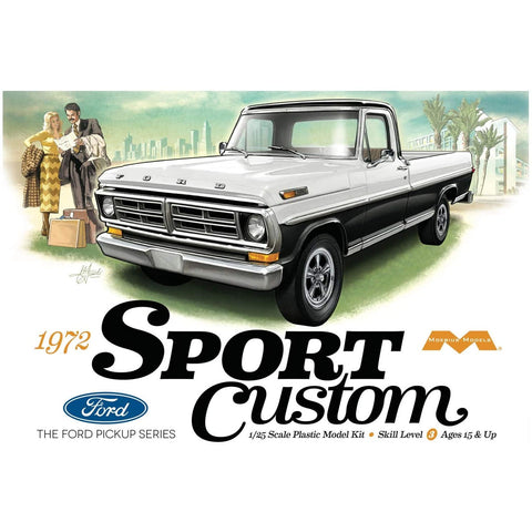 MOEBIUS 1220 1/25 1972 Ford Sport Custom Pickup