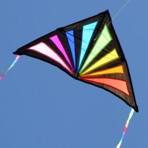 WINDSPEED Sunrise Delta Single String Kite